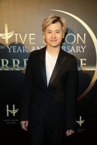 1.กฤษฏิ์ จิระเกียรติวัฒนา ผู้จัดงาน Hive salon 5th Year Anniversary